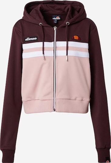 Džemperis 'Bulito' iš ELLESSE , spalva - uogų spalva / ryškiai rožinė spalva / balta, Prekių apžvalga