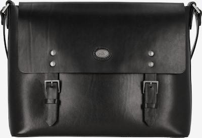 The Bridge Porte-documents en noir, Vue avec produit