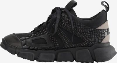 myMo NOW Sneakers laag in de kleur Taupe / Zwart, Productweergave