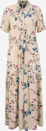 OBJECT Tall Robe-chemise 'PAREE' en sable / bleu foncé / vert / rose, Vue avec produit