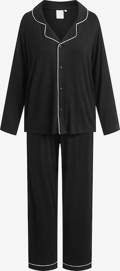 CCDK Copenhagen Pyjama 'Joy' in schwarz / weiß, Produktansicht