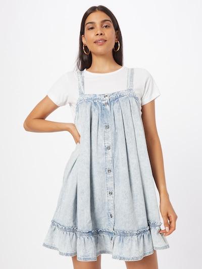 Free People Kleid 'WILD ONE' in hellblau, Modelansicht