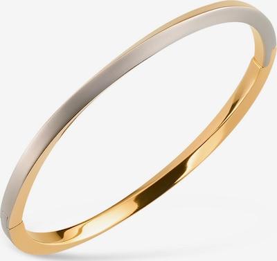 Boccia Titanium Armband in gold / silbergrau, Produktansicht