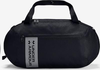 UNDER ARMOUR Sporttas 'Roland' in de kleur Zwart / Zilver, Productweergave
