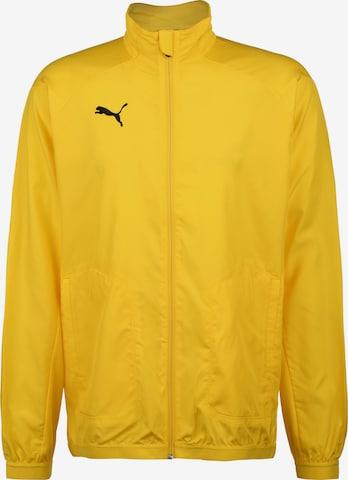 Vestes d'entraînement PUMA en jaune
