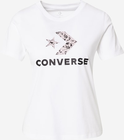 CONVERSE Shirt in Pastel purple / Black / White, Item view