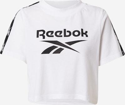 REEBOK Functional shirt in black / white, Item view