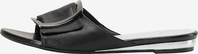 DreiMaster Klassik Muiltjes in de kleur Zwart, Productweergave