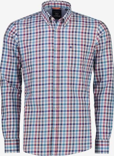 LERROS Hemd in marine / hellblau / rot, Produktansicht