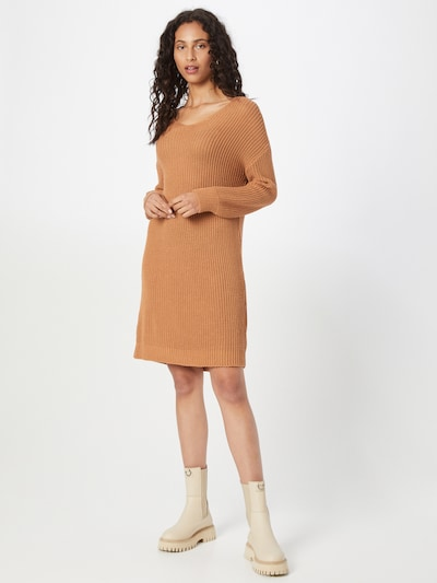 ABOUT YOU Kleid 'Laurina' in camel, Modelansicht