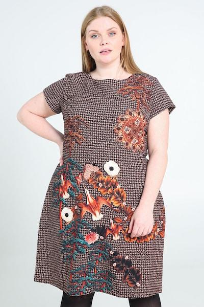 Paprika Kleid in mischfarben, Modelansicht