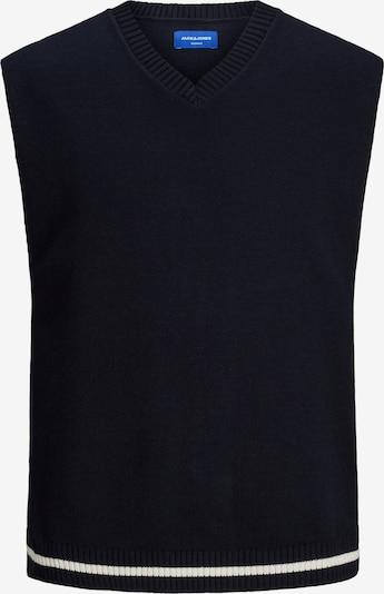 Pullunder 'ROCCO' JACK & JONES pe albastru închis / alb, Vizualizare produs