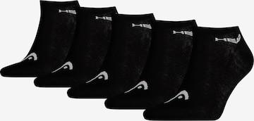 HEAD Socken in Schwarz