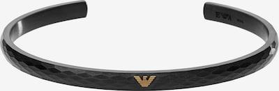 Emporio Armani Armband in schwarz, Produktansicht
