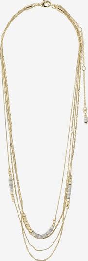 Pilgrim Chaîne en or / blanc, Vue avec produit