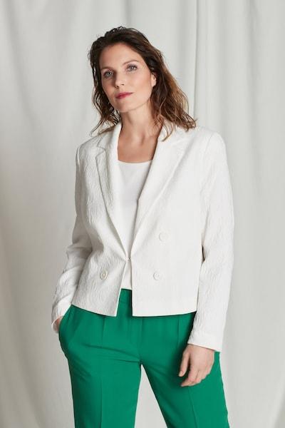 Ulla Popken Blazer in weiß, Modelansicht