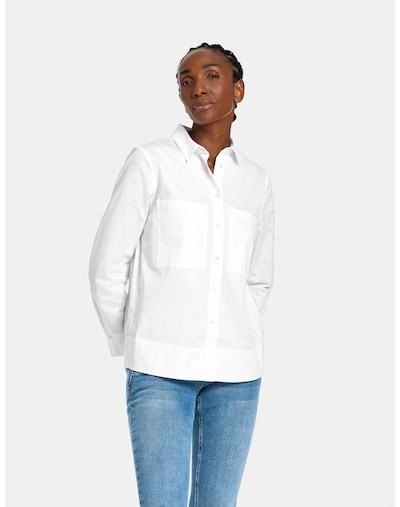 GERRY WEBER Bluse in weiß, Modelansicht