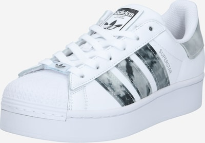ADIDAS ORIGINALS Baskets basses 'Superstar Bold' en noir / blanc, Vue avec produit