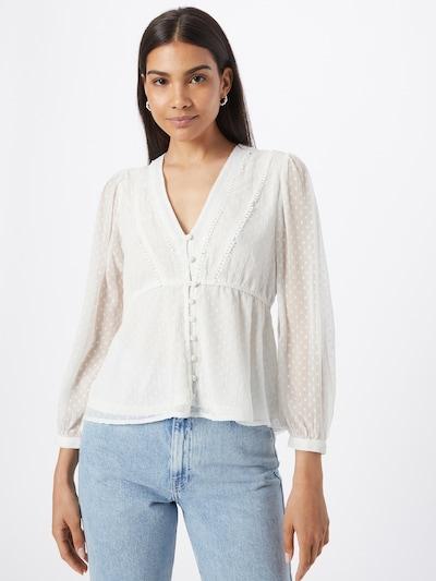 ONLY Bluse 'BETTINA' in weiß, Modelansicht