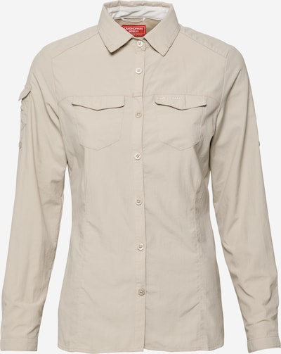 CRAGHOPPERS Multifunctionele blouse 'NosiLife Adventure II' in de kleur Cappuccino, Productweergave