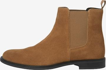 JACK & JONES Chelsea Boots 'Stan' in Brown