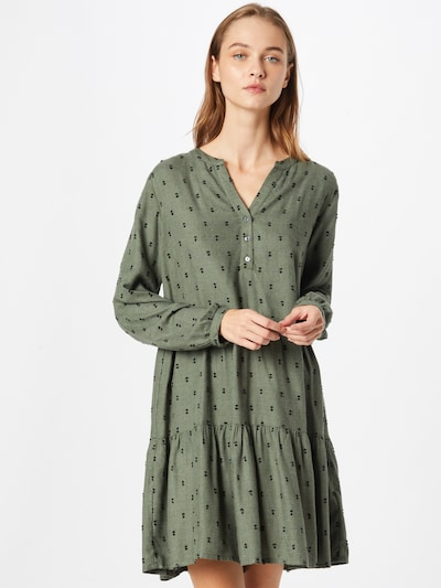 ABOUT YOU Shirt Dress 'Felize' in Dark green, View model