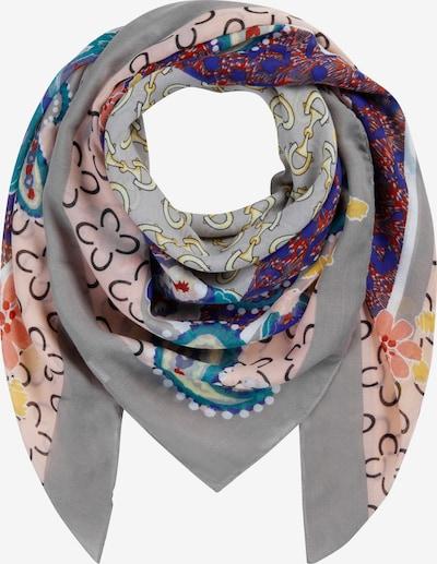 CODELLO Látkové rúško 'Love Land' - modrá / svetlosivá / petrolejová / ružová / biela, Produkt