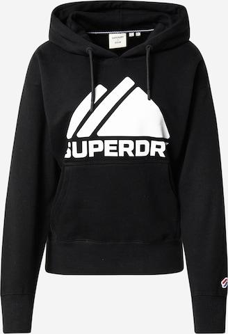 Superdry Sweatshirt in Zwart