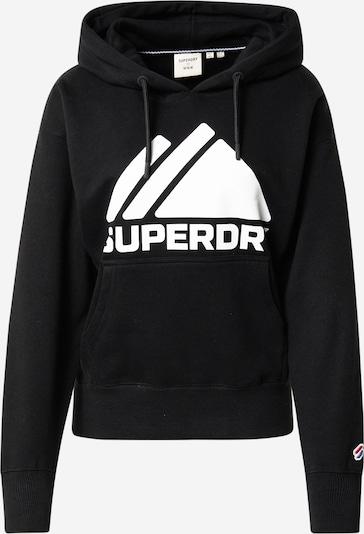 Superdry Sweatshirt in schwarz / weiß, Produktansicht