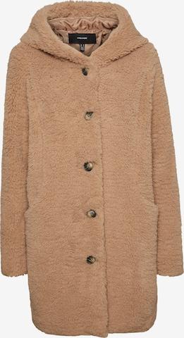 VERO MODA Prechodný kabát 'Joyce' - Hnedá