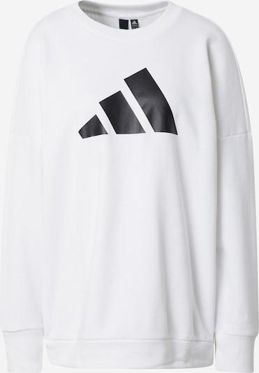 ADIDAS PERFORMANCE Športová mikina - čierna / biela, Produkt