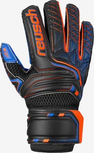 REUSCH Torwarthandschuh 'Attrakt S1 Junior' in blau / orange / schwarz, Produktansicht