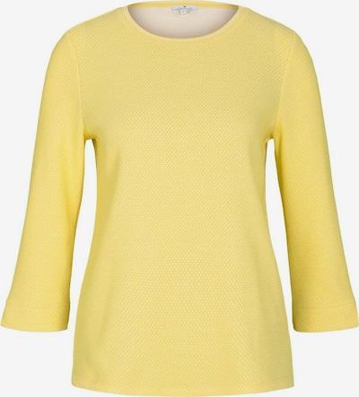 TOM TAILOR Mikina - žltá / biela, Produkt