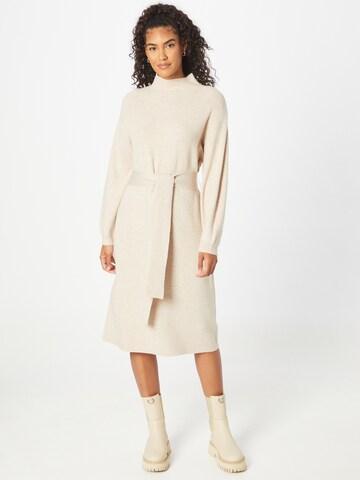 MINE TO FIVE Gebreide jurk in Beige
