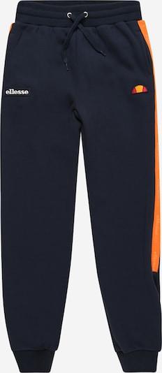 ELLESSE Pantalon 'Menti' en bleu marine / orange / rouge, Vue avec produit