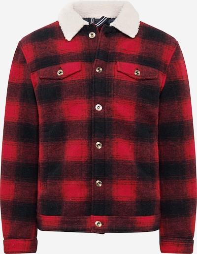 JOOP! Jeans Jas 'Larson' in de kleur Zwart / Wit / Wolwit, Productweergave