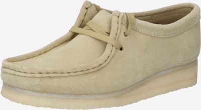 Clarks Originals Schnürschuh 'Wallabee' in beige, Produktansicht