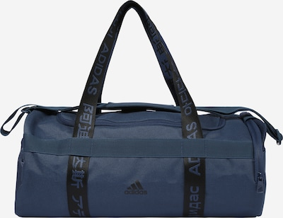 ADIDAS PERFORMANCE Sports bag in navy / black, Item view