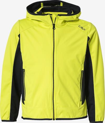 CMP Outdoorjacke in gelb / schwarz, Produktansicht