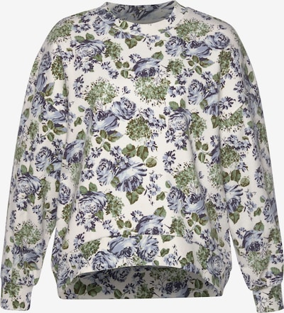 LEVI'S Sweatshirt in oliv / pastellgrün / flieder / dunkellila / weiß, Produktansicht