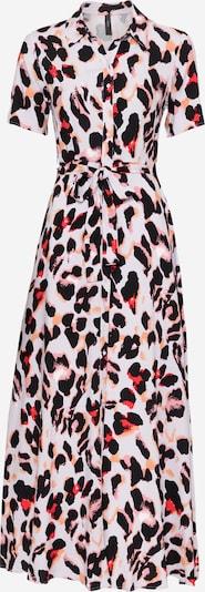 Y.A.S Kleid 'LIRO' in rosa / puder / rot / schwarz, Produktansicht