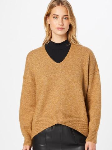 BOSS Casual Pullover in Beige