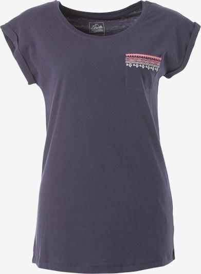 Lakeville Mountain T-Shirt 'Lanin' in navy / koralle / weiß, Produktansicht