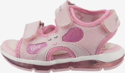 GEOX Sandale 'Todo' in rosa, Produktansicht