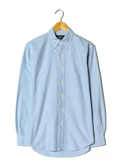 RALPH LAUREN Hemd in M/L in pastellblau, Produktansicht