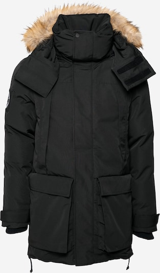 Superdry Winter parka 'EVEREST' in Light brown / Black, Item view