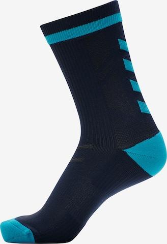 Chaussettes de sport Hummel en bleu