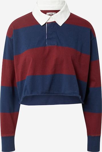 Tricou American Eagle pe bleumarin / roșu carmin / alb, Vizualizare produs