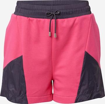 HUGO Püksid 'Nisumi', värv roosa