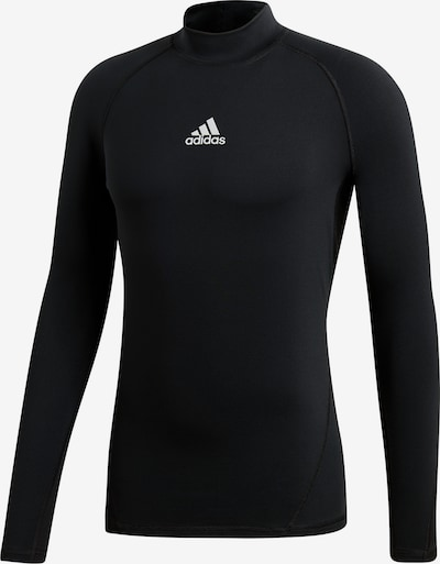 ADIDAS PERFORMANCE Base Layer in schwarz: Frontalansicht